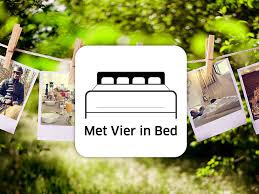 met vier in bed